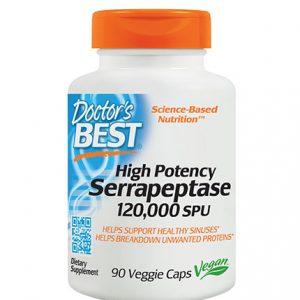 Serrapeptase (серапептаза)